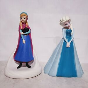 """Peachtree Playthings Disney Frozen Anna & Elsa 9"""" Coin Banks"""