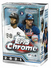 Внешний вид - 2021 Topps Chrome MLB Baseball Blaster Box - Factory Sealed - Brand New