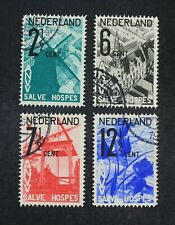 CKStamps: Netherlands Stamps Collection Scott#B54-B57 Used