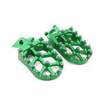 CNC Billet Footpegs Footrest Foot Pegs Kawasaki KX125 KX250 97-01 KX500 88-90