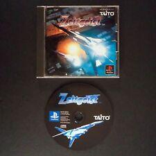ZEITGEIST PlayStation NTSC JAPAN・❀・SHOOT EM UP RAIL SHOOTER TAITO PS1 ツァイトガイスト