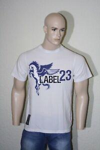 Label 23 Herren T-Shirt Spirit 14017 weiss NEU