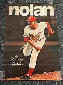 "Gary Nolan Cincinnati Reds original SGA poster 1972 24x36"""