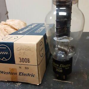 Vintage Western Electric WE 3000B Electronic Vacuum Tube, Tested Good