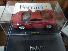 HACHETTE 1/24 FERRARI 488 GTB 2015 + LIVRE BOITE CRISTAL LUXE SUPERBE NEUF