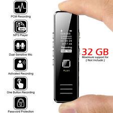 Voice Activate Mini Spy Digital Sound Audio Recorder Dictaphone MP3 Player