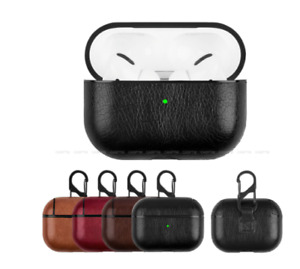 Leather Case for Airpods Pro Luxury Protective Cover with Anti-lost new 2021