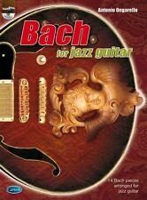 Bach for Jazz Guitar Guitar Sheet Music, CD Instrumental Album