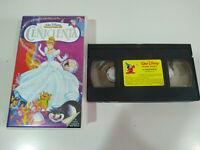 LA CENICIENTA CINDERELLA LOS CLASICOS Walt Disney - VHS Cinta Español