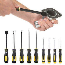 9pc Scraper / Hook Pick Set Car Removal Hand Tool Scraping O rings Seals Bushes