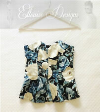 Viscose Evening, Occasion Dry-clean Only Floral Tops & Blouses for Women