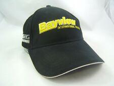 Bayview International Trucks Big Rig Parts Hat Black Hook Loop Baseball Cap