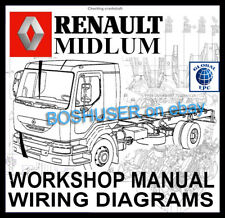 RENAULT MIDLUM TRUCK LORRY WORKSHOP SERVICE REPAIR MANUAL WIRING DIAGRAMS