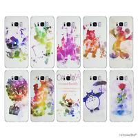 Disney Fan Art Coque/Etui/Case Pour Samsung Galaxy S6 Edge (G925F) / Silicone
