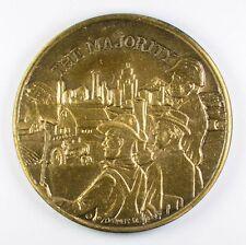 The Majority (Pride Faith Respect) Medal Medallion Token (1970 Timely Designs)