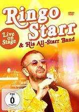 DVD Ringo Starr Ans Hi sAll-Starr Banda Live on Stage
