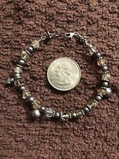 Bracelet 7� Bead And silver