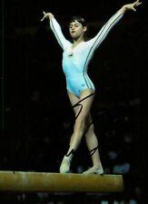 Nadia Comaneci Signed 6x4 Photo Olympics Gymnast Gold Medalist Autograph + COA