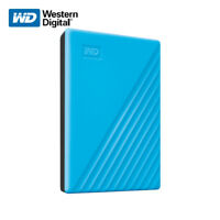 WD NEW 2TB 4TB My Passport Portable External Hard Drive BLUE with Tracking#