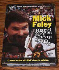 WWF - Mick Foley: Hard Knocks  Cheap Pops (DVD, 2001) Wrestling Sport BRAND NEW