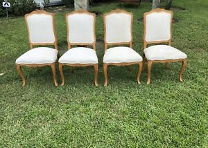 ETHAN ALLEN Country French VENICE Side Chairs ~ Set Of 4 ~ Beautiful Sturdy