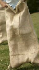 10 x Adults Sack Race Extra Large Hessian Sacks Ideal for Garden Games Etc