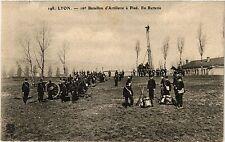 CPA LYON 16e Bataillon d'Artilerie a Pied En Batterie (461200)