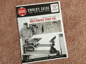 shopsmith model 10-er manual