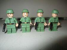 Lego Indiana Jones Mini figures 4 Russian Soliders Kingdom Crystal Skull