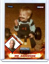 TNA Mr. Anderson #90 2013 Impact Wrestling LIVE GOLD Parallel Card SN 48 of 50