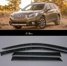 For Subaru Outback 5 2015-2019 Window Visors Sun Rain Guard Vent Deflectors