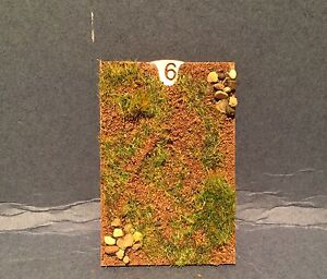 Cavalry Casualty Markers  set of 10 kits MDF version.