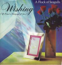 A FLOCK OF SEAGULLS  Wishing / Committed  45 with PicSleeve