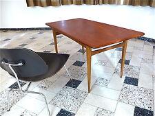 MID-CENTURY Teak COFFEE TABLE Danish Modern Couchtisch Sofatisch | 1960er 1960s