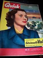Zeitschrift Quick 01.06.1957 Geheimwaffe Violet
