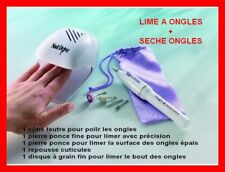 KIT manucure/pédicure, sèches ongles + lime à ongles !!!  -NEUF-