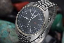 Vintage SEIKO Chronograph 6139-7039 Stainless Steel Men's Watch