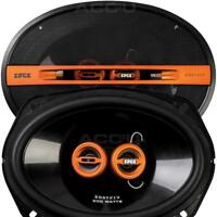 "EDGE EDST219-E6 6x9 6x9"" inch 400w 3-Way Car Parcel Shelf Coaxial Speakers Set"