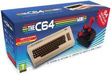 The C64 Mini Console Videogames Deep Silver (EU IMPORT) + 1 Joystick + 64 Games