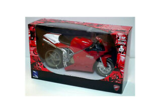 Ducati 998S in Red (1:12 scale by New-Ray Toys 43693A)