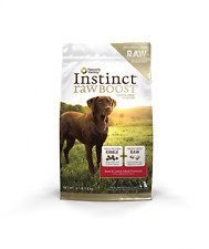 Nature's Variety Instinct Raw Boost Grain Free Beef & Lamb Meal Formula Dry Dog