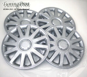 """4pcs Wheel Cover Rim Skin Covers 15"""" Inch, Style 610 15 Inches Hubcap Hub Caps"""