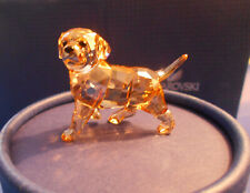 SWAROVSKI CRYSTAL FIGURINE - GOLDEN RETRIEVER  #1142824