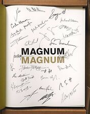 SIGNED BY 31 MAGNUM PHOTOGRAPHERS - 2007 1ST EDITION FINE Alec Soth Martin Parr