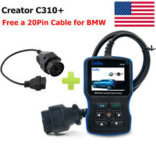 Creator C310+ Code Reader Scanner Graphing Enginer Oil Severice Reset For BMW US