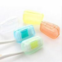 1set/5x New Portable Travel Toothbrush Head Cover Case Protective Cap LF