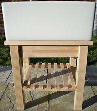 "60cm (24"") Belfast / Butler Sink Stand Unit - Freestanding, Heavy set Frame"