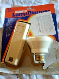 Remote Cordless Lamp Dimmer