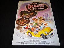 LA BOUM AMERICAINE  !  affiche cinema  teenagers 1979