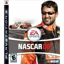 PS3 Nascar 08 Video Game 2008 ea sports online multiplayer racing 2008 COMPLETE
